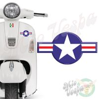 WW2 USAF United States Air Force 3D Decal sticker for all Vespa models Front or Side