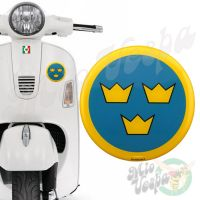 Swedish Air Force Target 3D Decal for all Vespa models Front or Side Mod